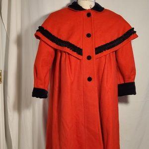 Vintage Rothschild Size 7(Juniors) Wool Dress Coat